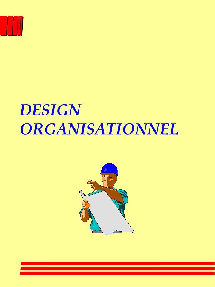 ORGANISATIONS PLUS SVELTES II l « Dowsizing » ( rightsizing ) : moins douvriers pour faire le travail dans une organisation avec un nouveau design l «