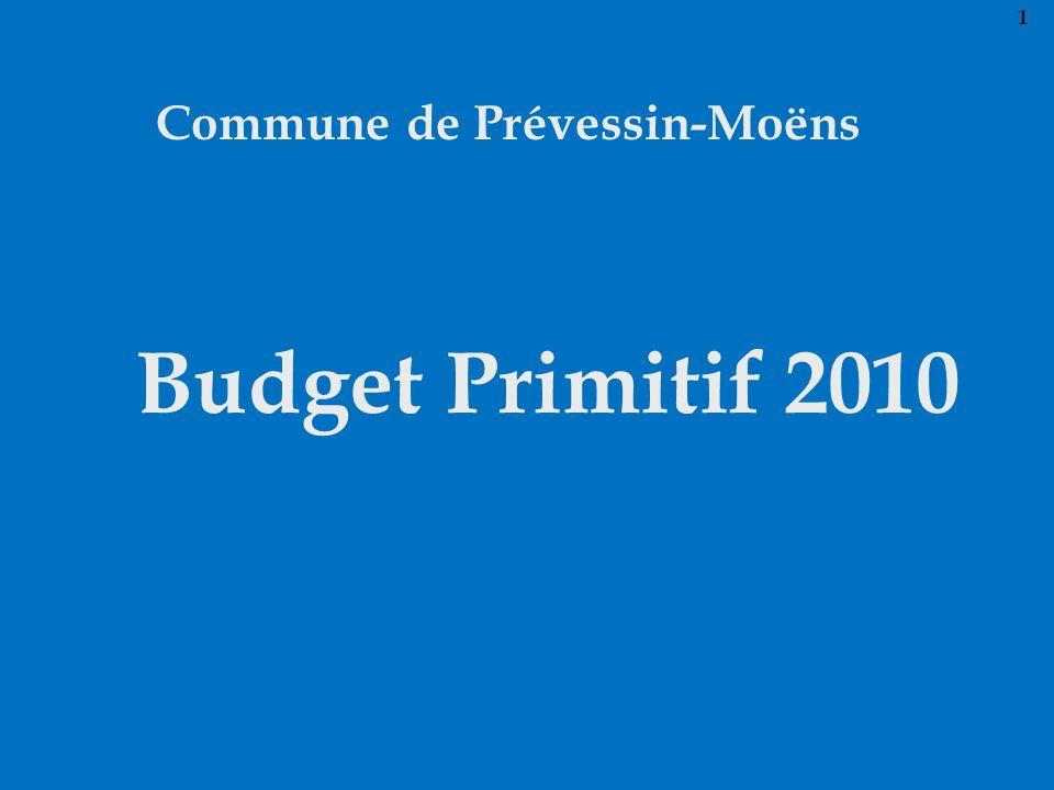 Commune de Prévessin-Moëns Budget Primitif 2010 1