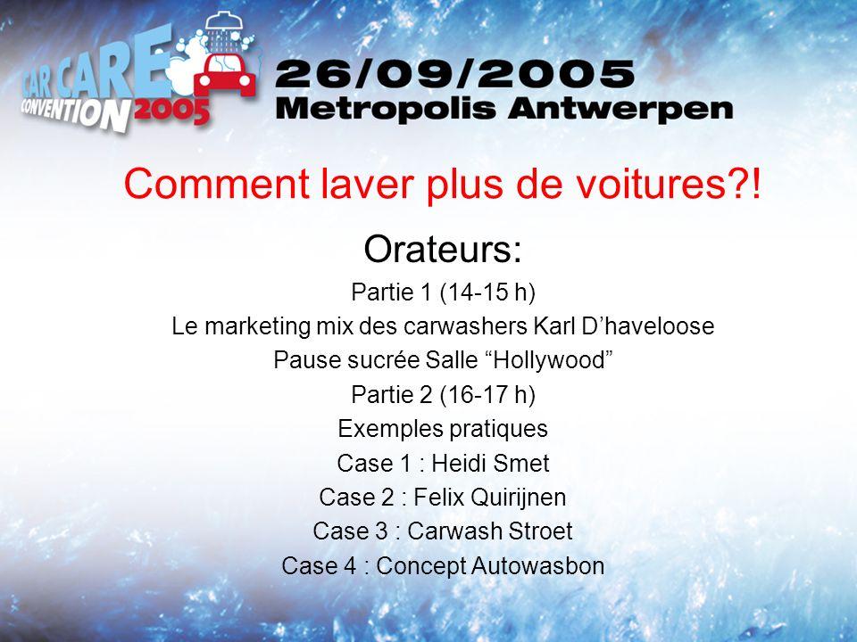 EN PRATIQUE: CARE WASH, MON ENTREPRISE WE TAKE A 100 % CARE OF A CLEAN CAR Copyrights : Expo Advice nv