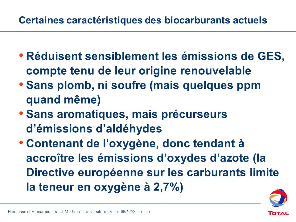 6 Biomasse et Biocarburants – J.M.
