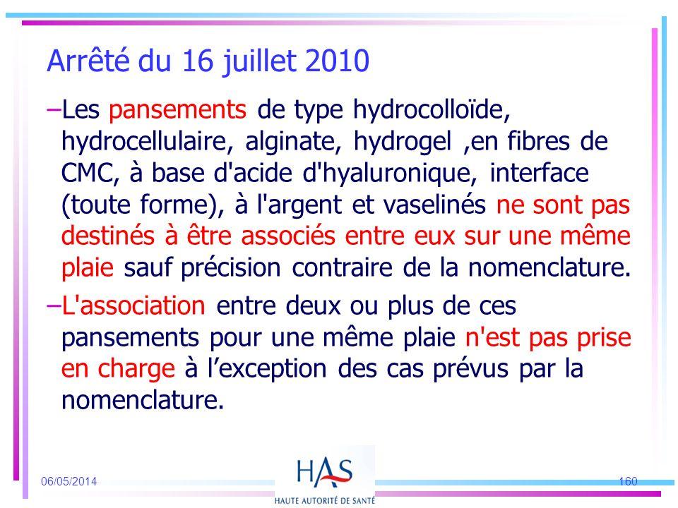 –Les pansements de type hydrocolloïde, hydrocellulaire, alginate, hydrogel,en fibres de CMC, à base d'acide d'hyaluronique, interface (toute forme), à