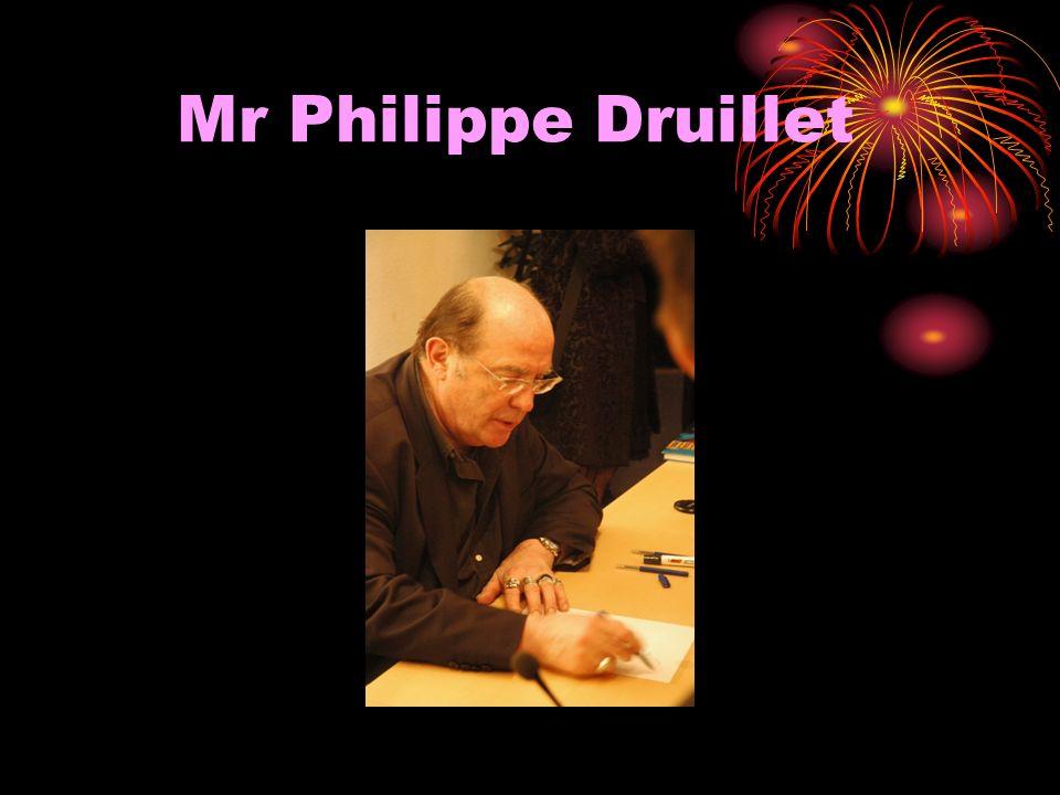 Mr Philippe Druillet