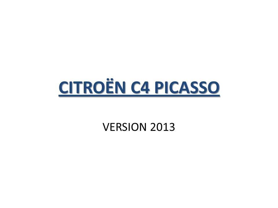 CITROËN C4 PICASSO VERSION 2013