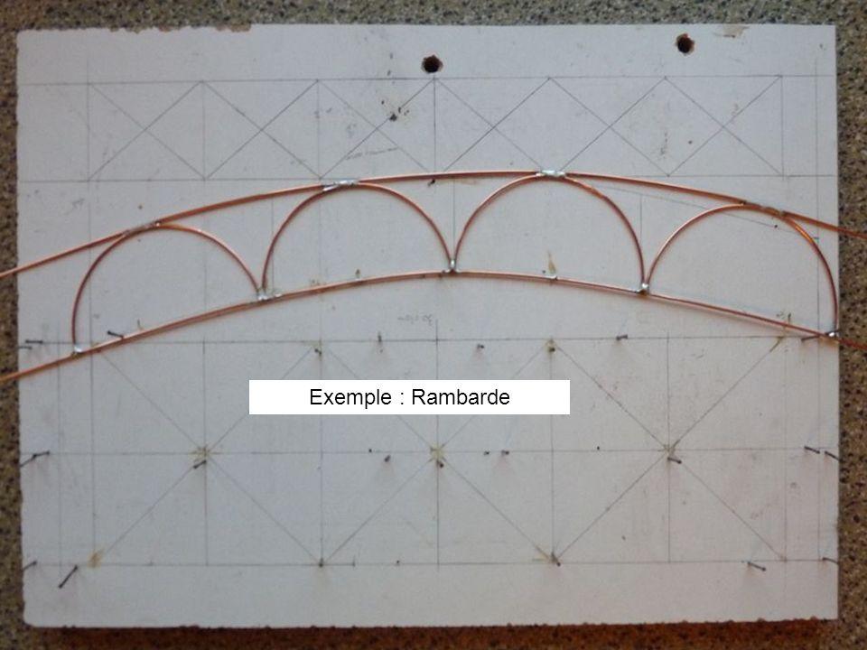 Exemple : Rambarde