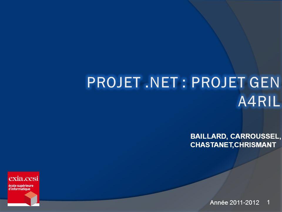 1 BAILLARD, CARROUSSEL, CHASTANET,CHRISMANT Année 2011-2012