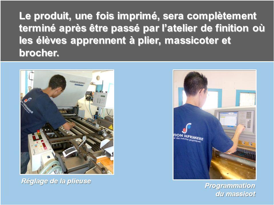 La finition est la dernière étape de la fabrication avant la livraison du produit imprimé.