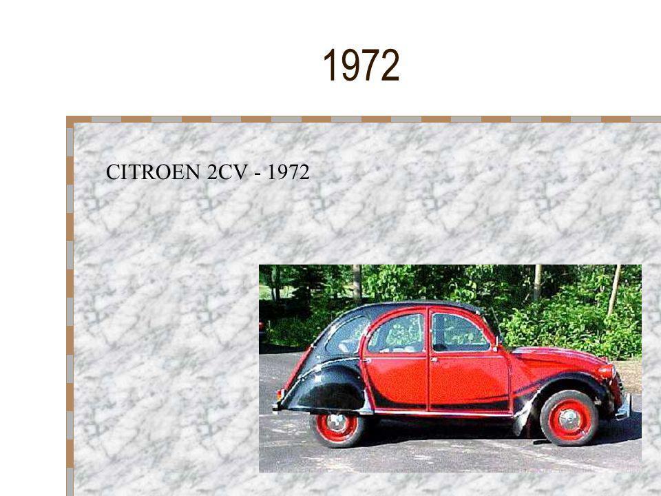 1955 Les voitures aux couleurs multiples sont en vogue. La couleur du toit est souvent différente de celle des autres parties, mais c'est une tendance