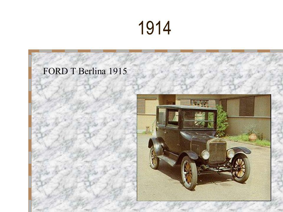 1914 FORD T Berlina 1915