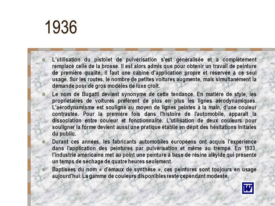 1936 BUGATTI ATALANTE - 1938