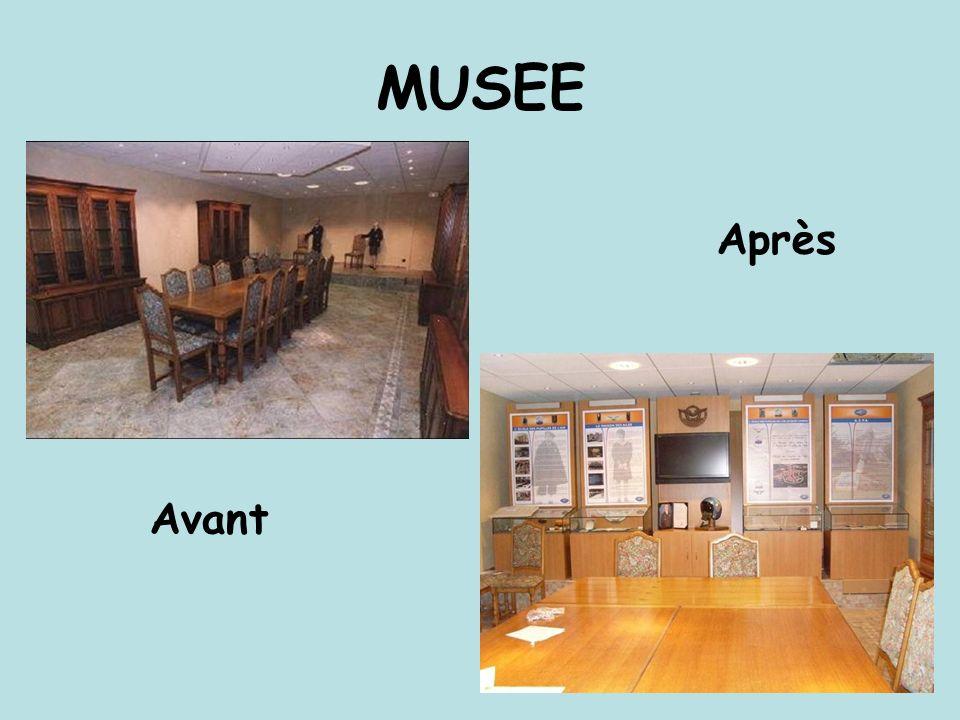 MUSEE Avant Après