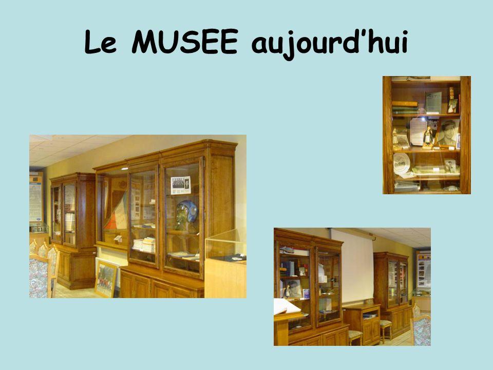 Le MUSEE aujourdhui