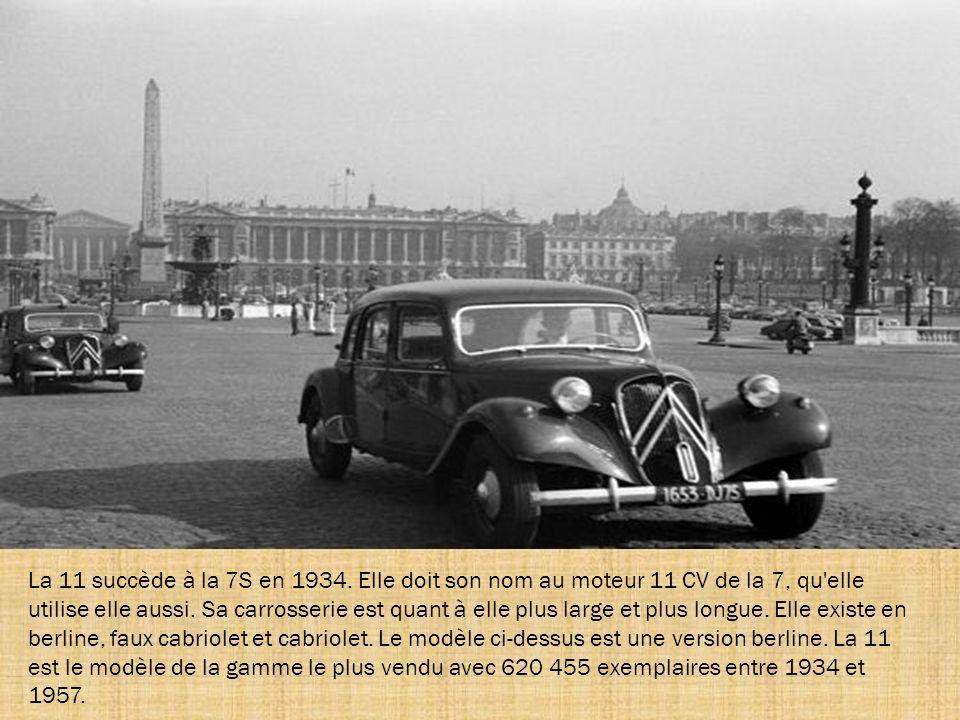 Au salon de septembre 1934, la 7B est remplacée par la 7C, qui se distingue par un toit entièrement tôlé. En 1939, cette même 7C devient la 7C économi