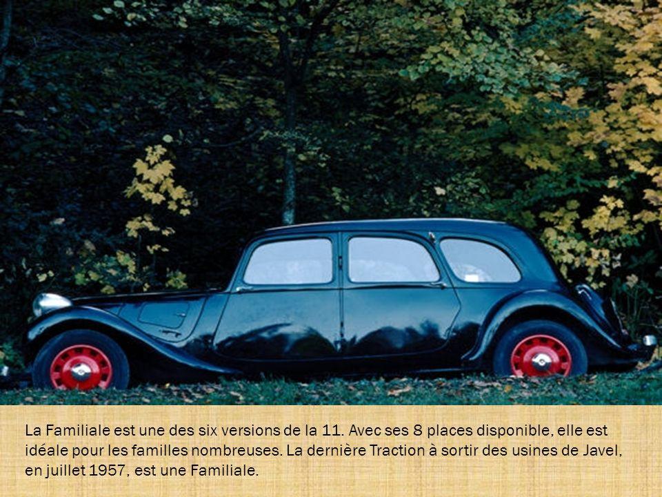 Le faux cabriolet 11L est produit dès juin 1934. Il reçoit des ailes plus arrondies à l'avant à partir d'octobre 1935, comme sur ce modèle, ainsi que