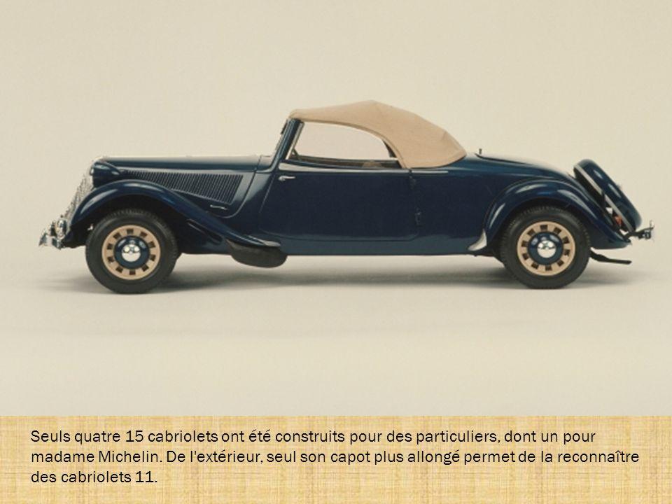 La Traction 15/6 D succède à la 15/6 G en juin 1947. Sa nouvelle appellation lui vient de sa nouvelle boîte de vitesse qui permet de faire tourner le