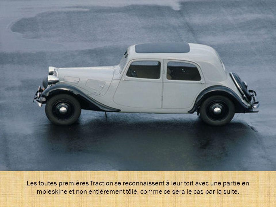 Citroën décide de lancer la Traction plus tôt que prévu. Elle est présentée au magasin d'exposition de Paris le 18 avril 1934. La presse la qualifie d
