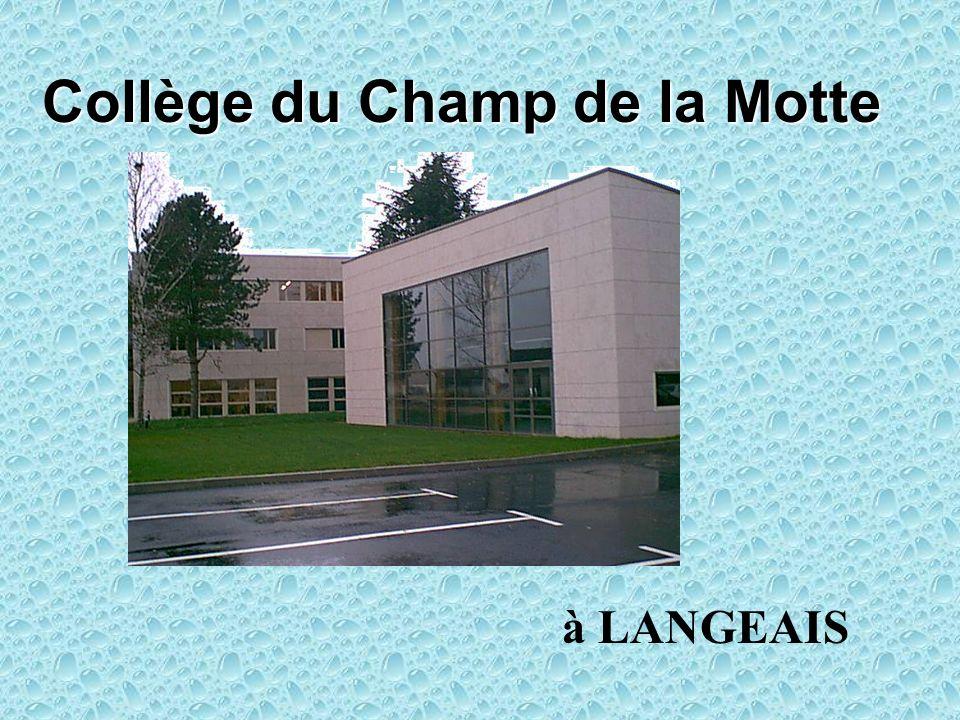 Collège du Champ de la Motte à LANGEAIS