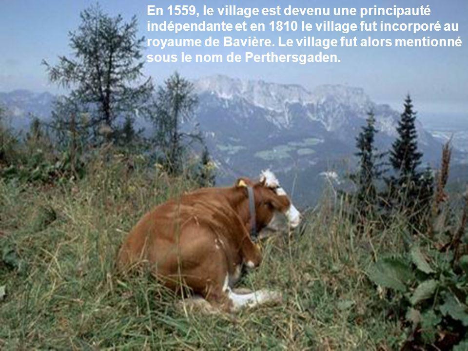 Le parc national de Berchtesgaden est comme une scène du festival de la nature.