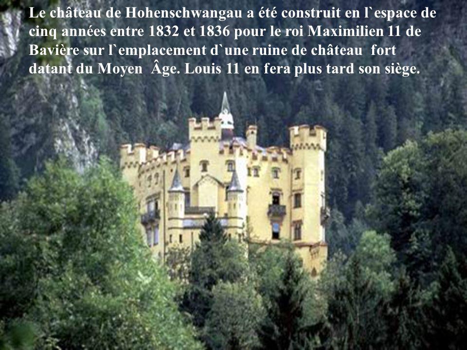 Le château de Hohenschwangau