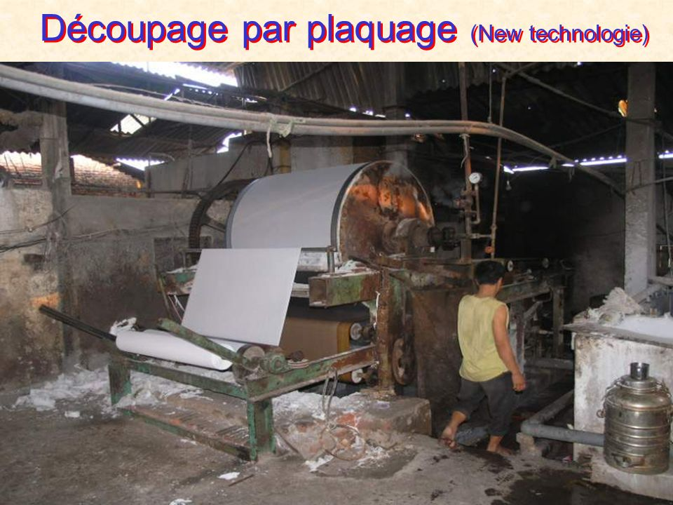 Machine de séchage et laminage TAD (top secret)