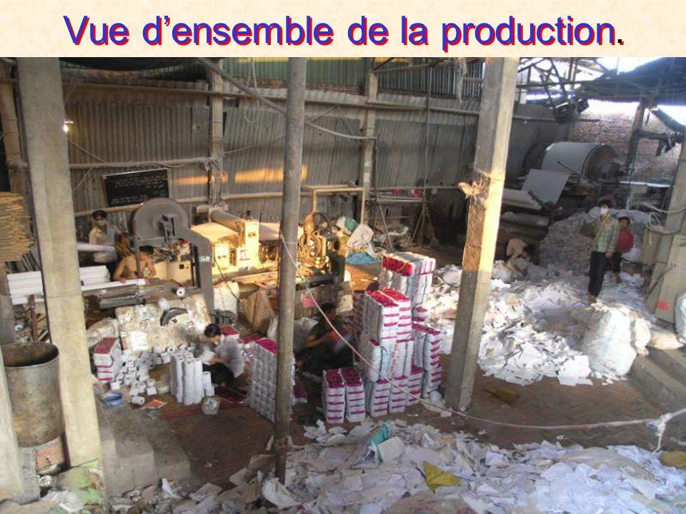 Production prète pour lexpédition.