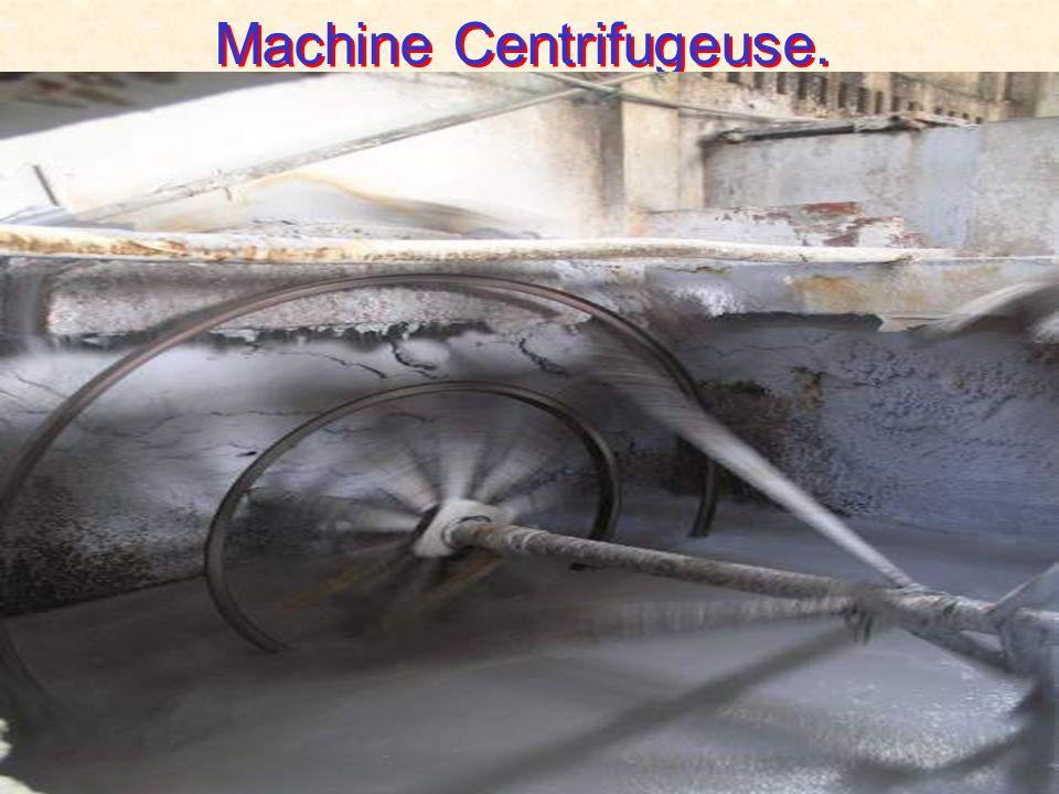 Machine Centrifugeuse.