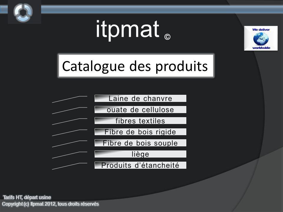 itpmat © Catalogue des produits
