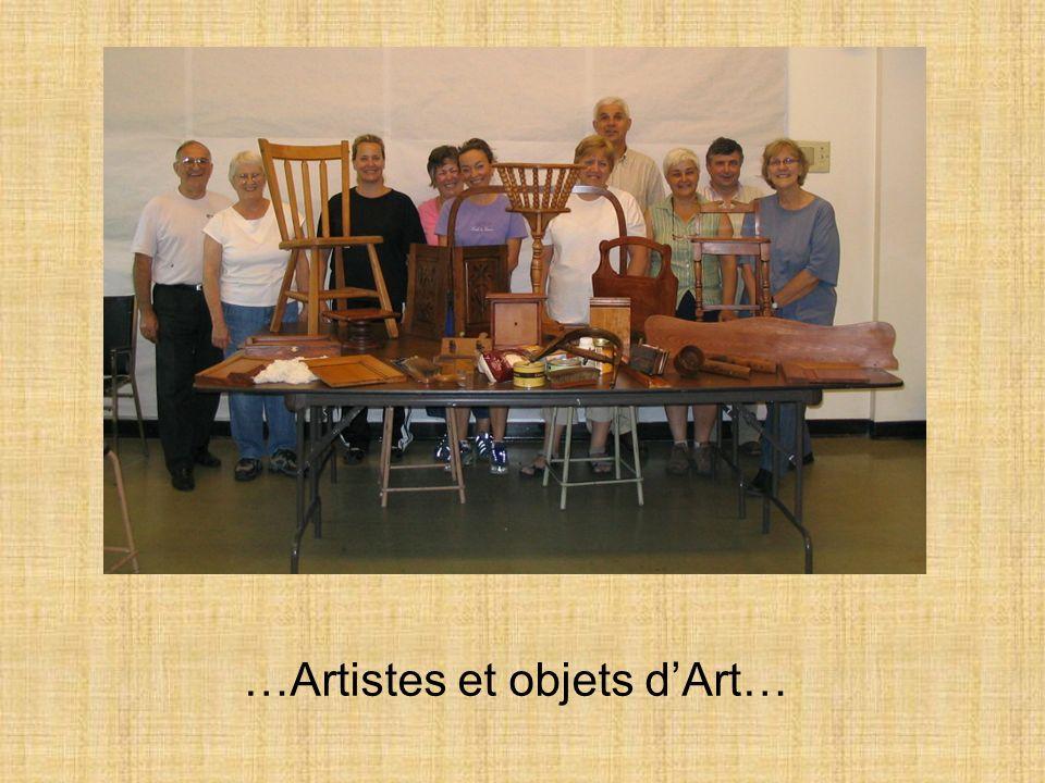 …Artistes et objets dArt…