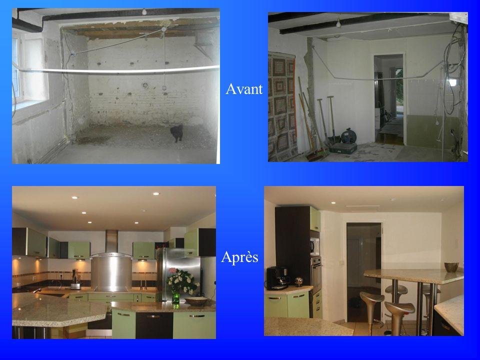 Rénovation complète Avant Après