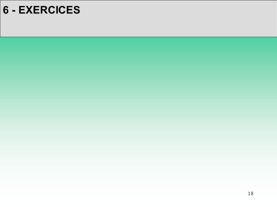 18 6 - EXERCICES