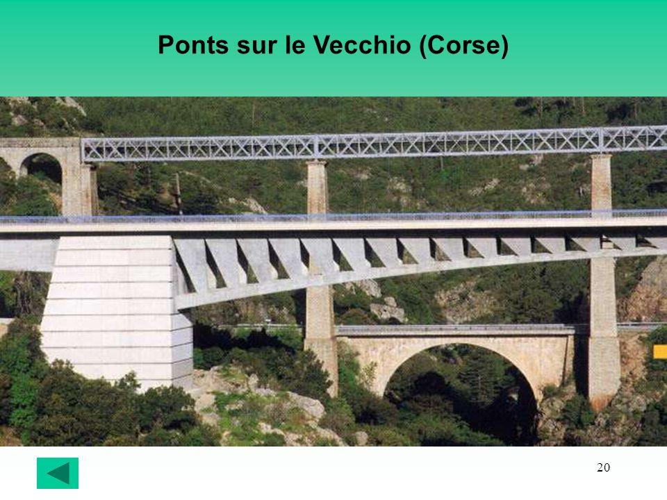 20 Ponts sur le Vecchio (Corse)