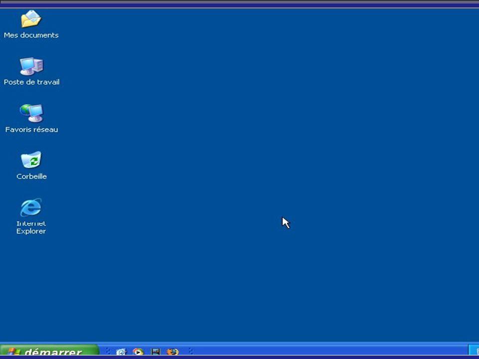 Manipulation de l explorer ou fenêtre La fenêtre d Explorer se divise en 4 zones : les barres d outils : zone 1 les volets d exploration : zone 2 le champ de visualisation des éléments : zone 3 la barre de status : zone 4 24