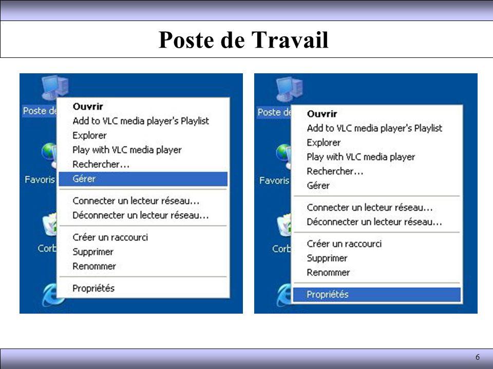 Menu Affichage Les différentes barres d outils peuvent être ajoutées ou retirées en choisissant le sous-menu Barre d outils et sélectionnant celles que l on veut voir.