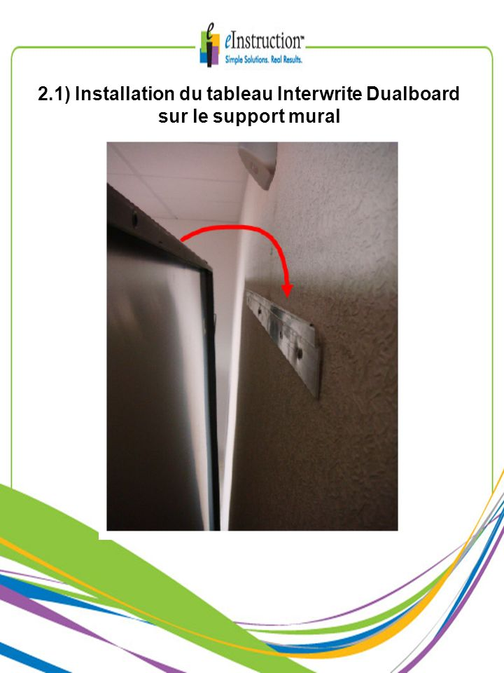 10) Connexions à la carte électronique du tableau Interwrite Dualboard (2/2)
