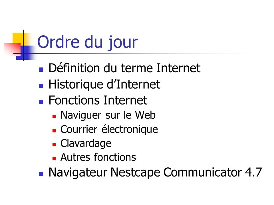 Quest-ce que Internet.