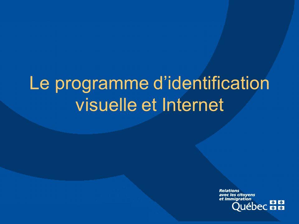 Le programme didentification visuelle et Internet