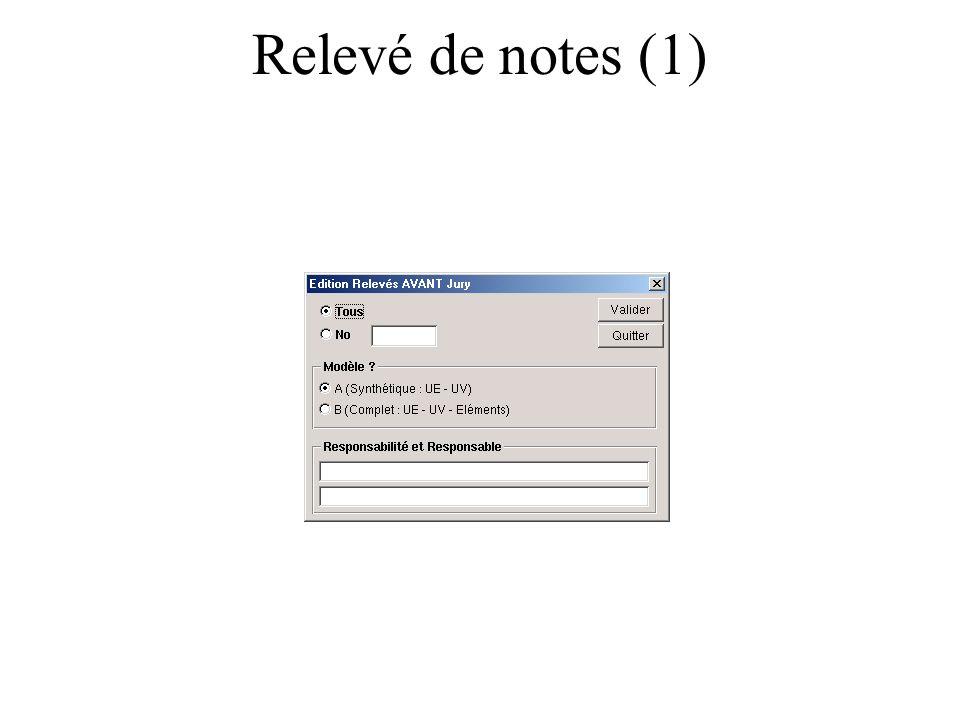 Relevé de notes (1)