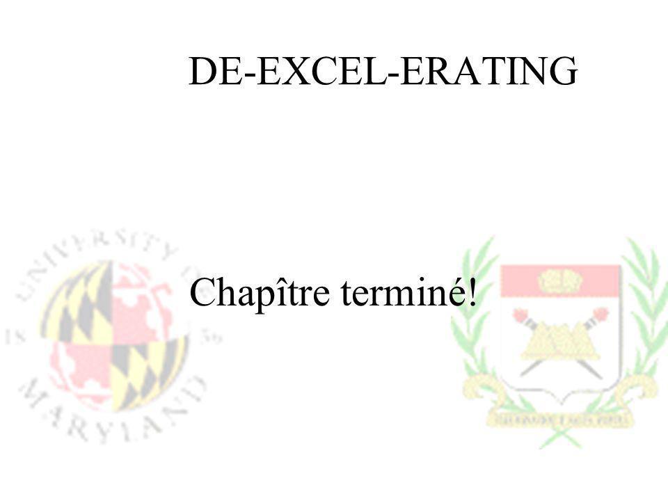 DE-EXCEL-ERATING Chapître terminé!