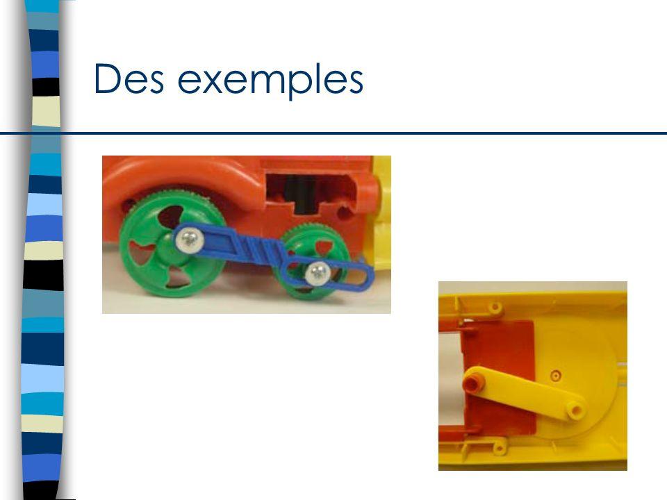 Des exemples