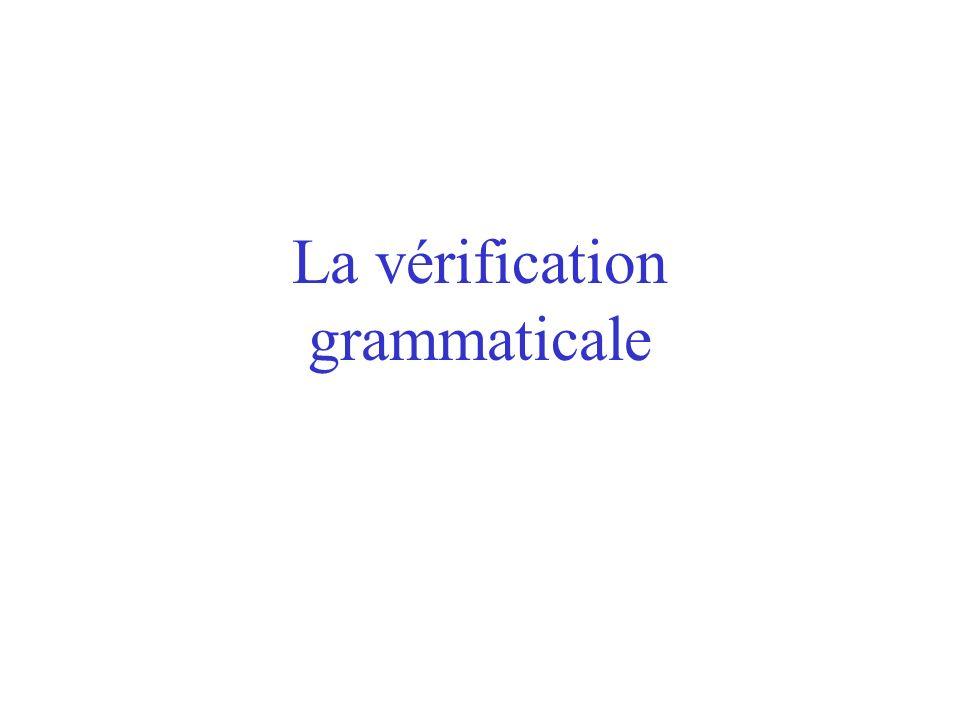 La vérification orthographique Les limites : Uniquement lorthographe dusage (parfait pour les fautes de frappe) Ne propose pas de correction si le mot