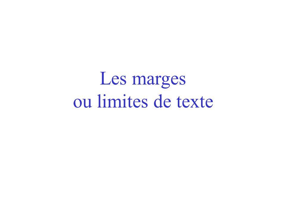 Les caractères spéciaux de mis en page Dans la même optique, cliquer sur « Outils/Options » fait apparaître la boîte de dialogue suivante... … dans la