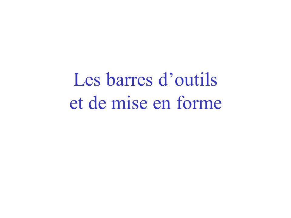 Les marges De la même manière, dans la boîte de dialogue « Outils/Options »... … cocher la case « Limites de texte » fait apparaître les marges à lécr
