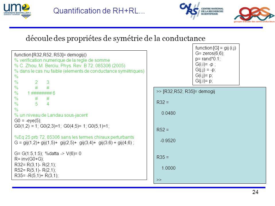 24 function [R32,R52, R53]= demogij() % verification numerique de la regle de somme % C. Zhou, M. Berciu, Phys. Rev. B 72, 085306 (2005) % dans le cas