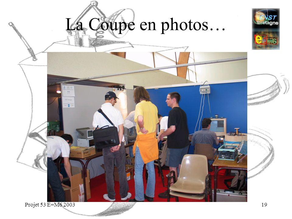 Projet 53 E=M6 200319 La Coupe en photos…