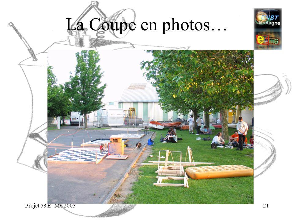 Projet 53 E=M6 200321 La Coupe en photos…