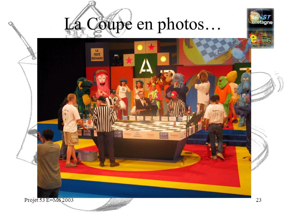 Projet 53 E=M6 200323 La Coupe en photos…
