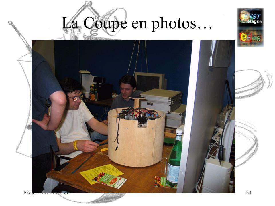 Projet 53 E=M6 200324 La Coupe en photos…