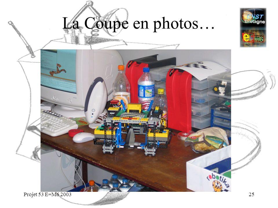 Projet 53 E=M6 200325 La Coupe en photos…