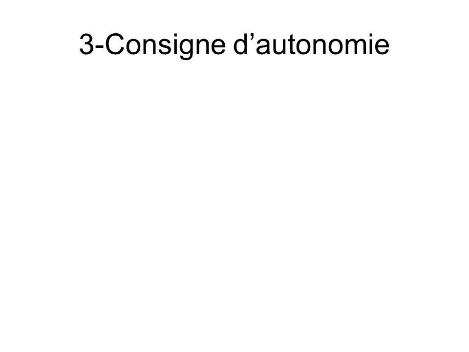 3-Consigne dautonomie