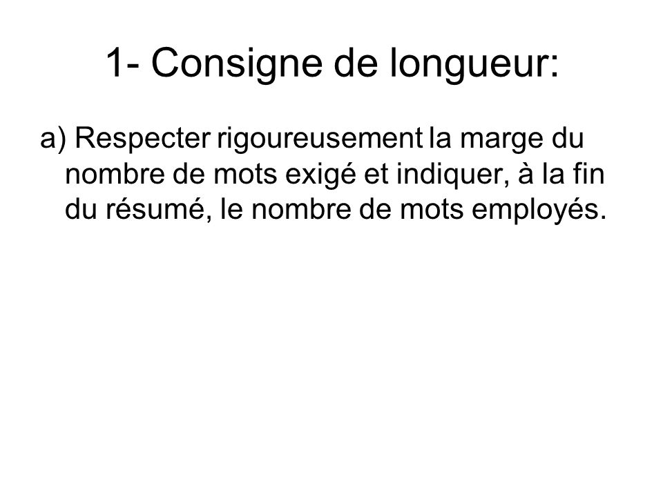 5-Comment restituer la progression du raisonnement.