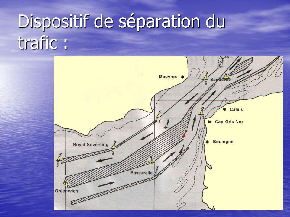 Dispositif de séparation du trafic :